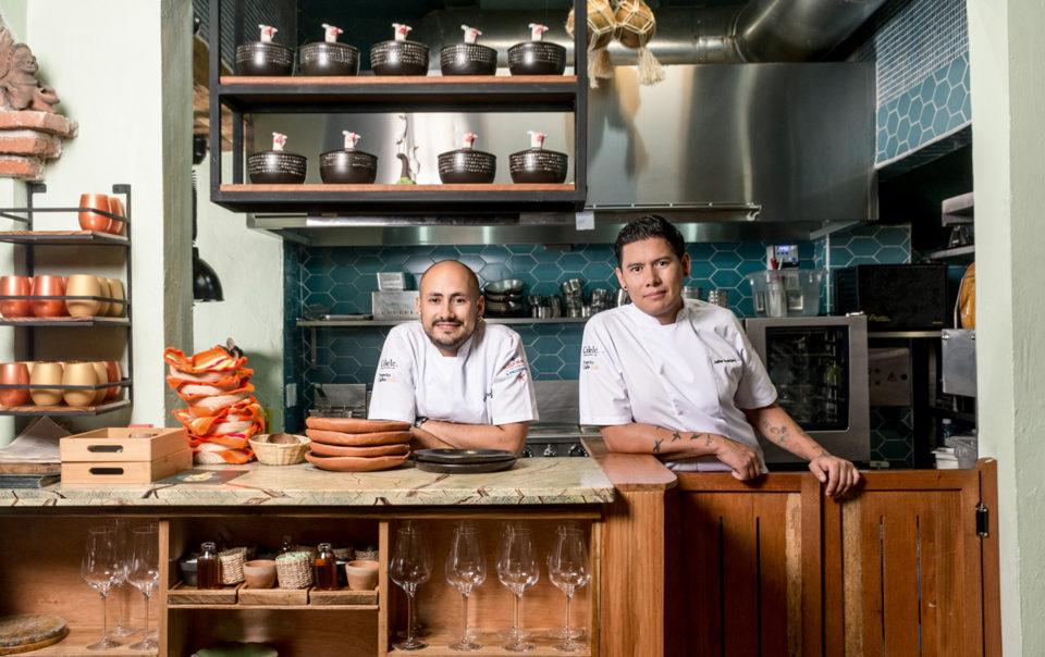 Sebastian Pinzon & Jaime Rodriguez, owners of Celele restaurant