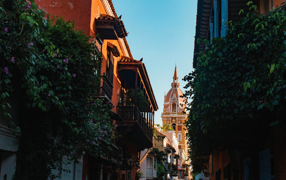 Cathedral in Cartagena, Colombia