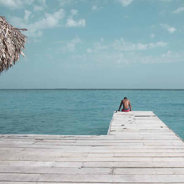 Beach in Rosario Islands, Cartagena, Colombia
